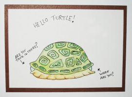 Hello Turtle by dusterbed