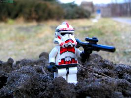 Ready to fight [Lego] by MannyDiax