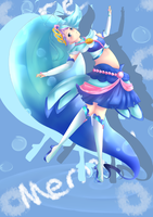 Cure Mermaid by Planetchii