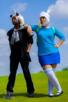 Adventure Time- Hanging out by sayuri13