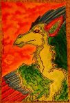 Feathered Dragon by IAmTheEvy