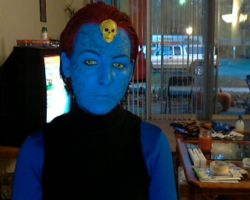 The finished Mystique by ComfortablyEccentric