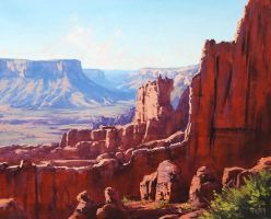 Colorado Canyon by artsaus