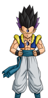Hatchy Gotenks 1st form by RobertoVile