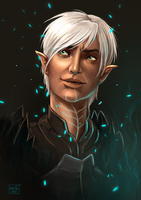 Dragon Age 2: Fenris by Kate-FoX