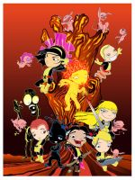 New Mutants by gottabecarl