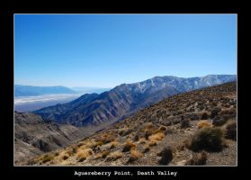 Aguereberry Pt., Death Valley by samtihen