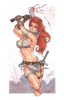 Red Sonja Original by Elias-Chatzoudis