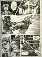 Baten comic page by happychild