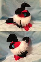 Yveltal Chibi Plush by GlacideaDay