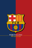 FCB - Barca Wallpaper 4 iPhone by lo0gie