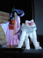 Okami MCM Expo 2012 Masquerade by Lady-Avalon