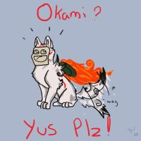 Okami plz by TheNeeblr