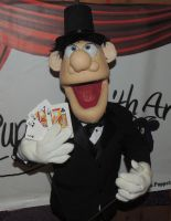 Magician 1 Puppet by PuppetSmith Arts by kingart4