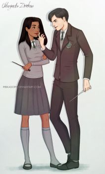 Commission - Tom Riddle by ribkaDory