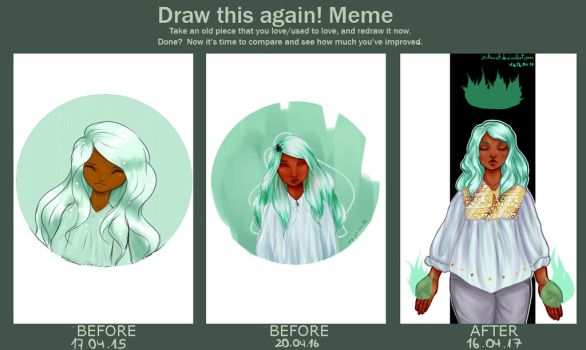 Draw this again - Mint Child by ZNToast