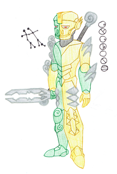 Cyclone, Toa of the Constellation Gemini by Color17