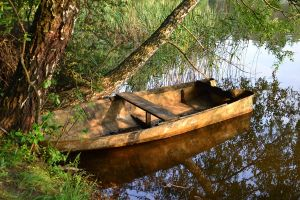 Boat - Lady of Shalott by feainne-stock