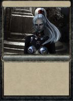 Drowcharacter outcome as card by epicgenerator