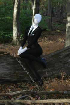 Slender Woman Cosplay by QueenWerandra