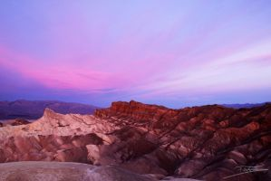 postcard from Zabriskie Point by Fixzor