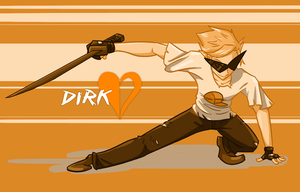 Homestuck: Dirk by cocowoushi