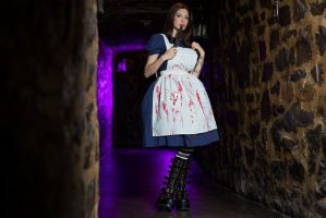 American McGee Alice Print by Ariane-Saint-Amour