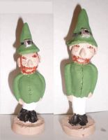 Surly, Inebriated Leprechauns by aberrantceramics