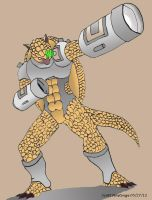 Armored Armadillo by ConcreteChief