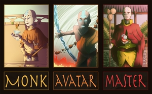 Avatar Evolutions: Aang by BarnCatz