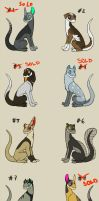 Scatterdog Points Adoptables [OPEN] by Rookie141