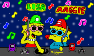 Music Party by MarioSimpson1