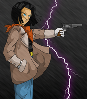 Weekly Drawing: Android 17 by RinskeR