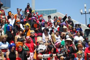 Naruto Gathering: EVERYONE, part 9 by miss-a-r-t