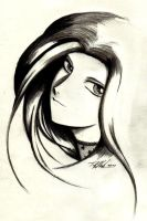 Another Anime Goth Girl by apparition-studios