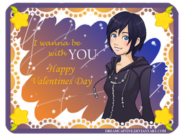 Happy Valentines Day from Xion by DreamCaptive