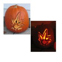 Yugioh Pumpkin by Katalalyn