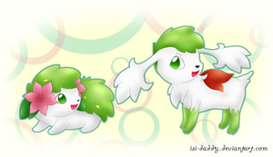 Shaymin by Isi-Daddy