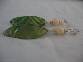 Crafted Nacre Earrings 3 by sampdesigns