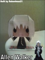 Chibi Allen Walker Papercraft Finished by rubenimus21