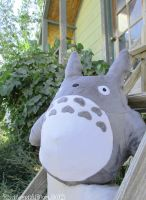 Large Totoro Plush Doll by neooki23