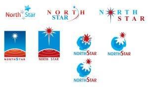 North Star Concept logo by my2komait