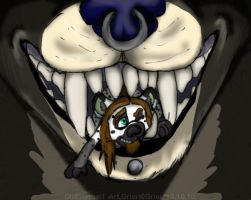 Im eating you by Grion