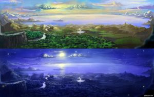 SARF Lookout Sketch by abigbat