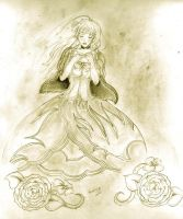 the beauty golden witch by labrujabeatrice