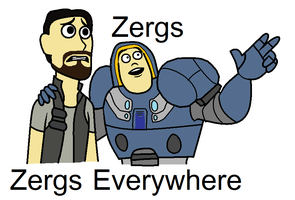 Zergs everywhere by ZergRex