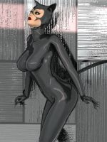 Catwoman Ready To Pounce by zzzcomics