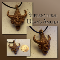 Supernatural: Dean's amulet by Hedgehogscanfly