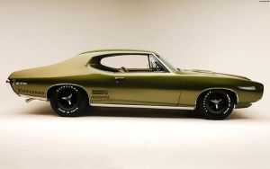 Pontiac GTO Hardtop Coupe '68 by HAYW1R3