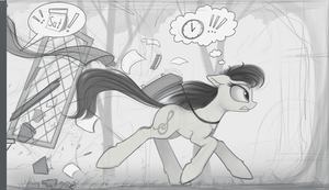 Octavia can't be late by Yakovlev-vad